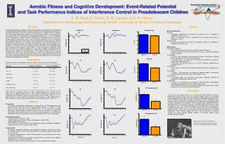 Aerobic Fitness and Cognitive Development: Event-Related Potential and Task Performance Indices of Interference Control