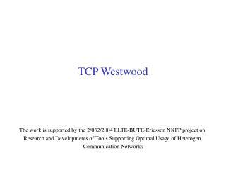 TCP Westwood
