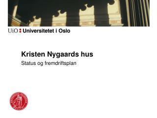 Kristen Nygaards hus