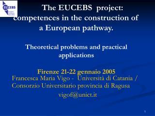 Francesca Maria Vigo -  Università di Catania / Consorzio Universitario provincia di Ragusa