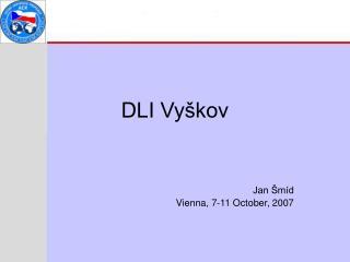 DLI Vy�kov