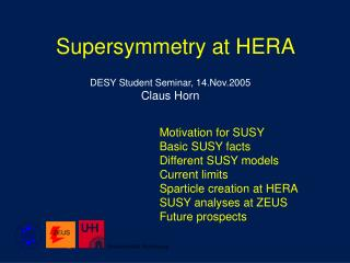Supersymmetry at HERA