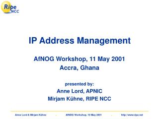 IP Address Management