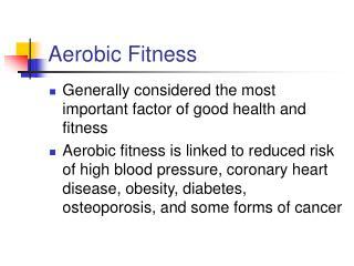 Aerobic Fitness