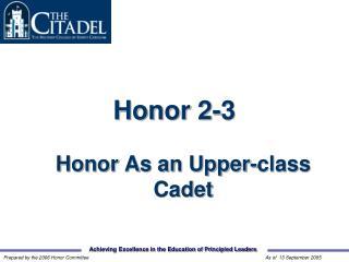 Honor 2-3