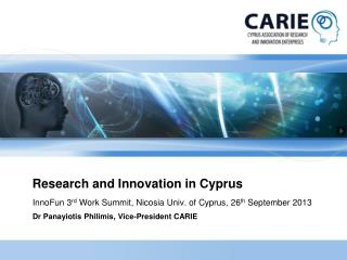 Research and Innovation in Cyprus