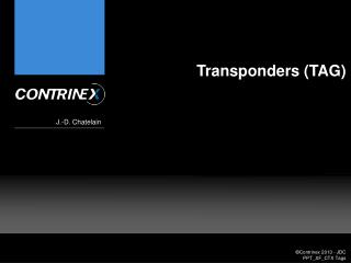 Transponders (TAG)