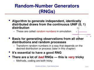 Random-Number Generators (RNGs)