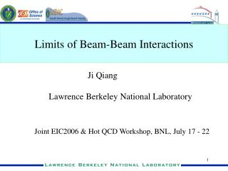 Limits of Beam-Beam Interactions