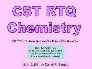 CST RTQ Chemistry