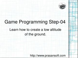 Game Programming Step-04