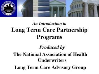 An Introduction to Long Term Care Partnership Programs