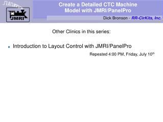 Create a Detailed CTC Machine Model with JMRI/PanelPro