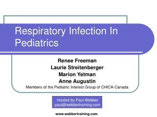 Respiratory Infection In Pediatrics