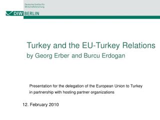 Turkey and the EU-Turkey Relations by Georg Erber and Burcu Erdogan