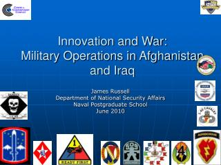 Innovation and War: Military Operations in Afghanistan and Iraq