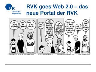 …. ein Portal für die RVK?