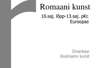 Romaani kunst