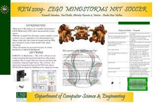 REU 2009-  LEGO  MINDSTORMS  NXT  SOCCER