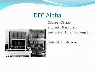 DEC Alpha