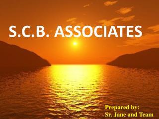 S.C.B. ASSOCIATES