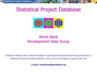 Statistical Project Database