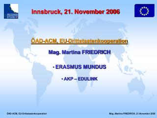 Innsbruck, 21. November 2006