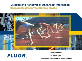 Creation and Handover of O&M Asset Information