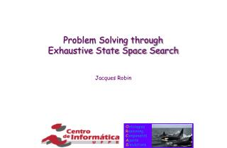 Problem Solving through Exhaustive State Space Search