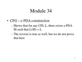 Module 34
