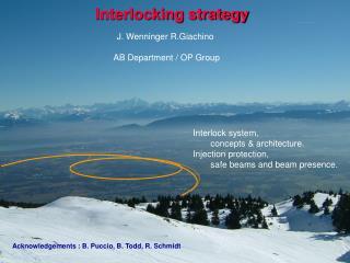 Interlocking strategy