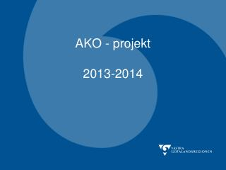 AKO - projekt 2013-2014