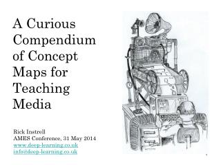 A Curious  Compendium of Concept Maps for Teaching Media