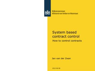 System based contract control