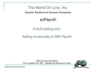 The World On-Line, Inc.
