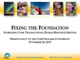 Fixing the Foundation Stabilizing Core Transactional Human Resource Services
