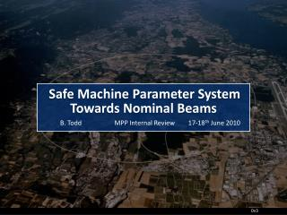 Safe Machine Parameters in LHC