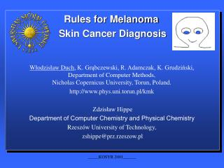Rules for Melanoma  Skin Cancer Diagnosis