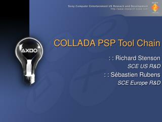 COLLADA PSP Tool Chain
