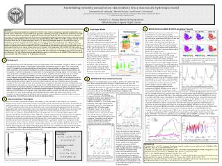 Assimilating remotely sensed snow observations into a macroscale hydrologic model