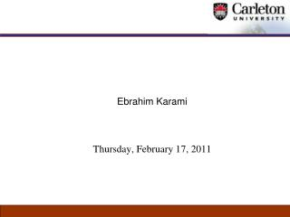 Ebrahim Karami Thursday, February 17, 2011