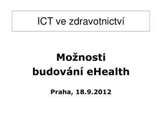 ICT ve zdravotnictví
