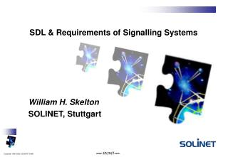 SDL & Requirements of Signalling Systems