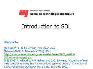 Introduction to SDL