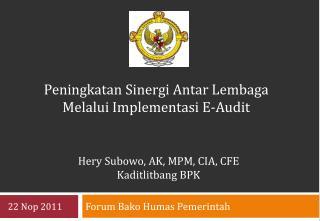 Forum  Bako Humas Pemerintah