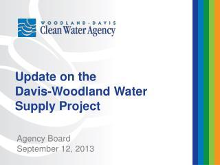 Agency Board September 12, 2013