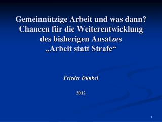 Frieder Dünkel 2012