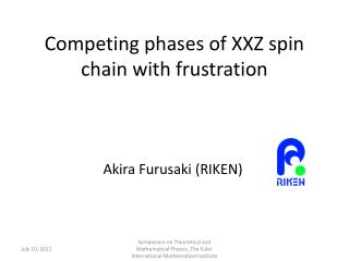 Competing phases of XXZ spin chain with frustration
