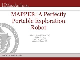 MAPPER: A Perfectly Portable Exploration Robot