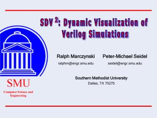 SDV  : Dynamic Visualization of  Verilog Simulations